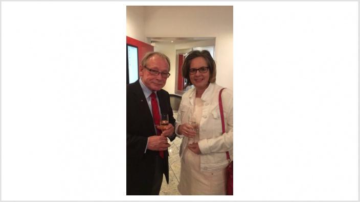 Willy Wagner im Gespräch mit Ursula Groden-Kranich